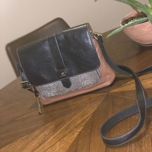 Leather Fossil Crossbody
